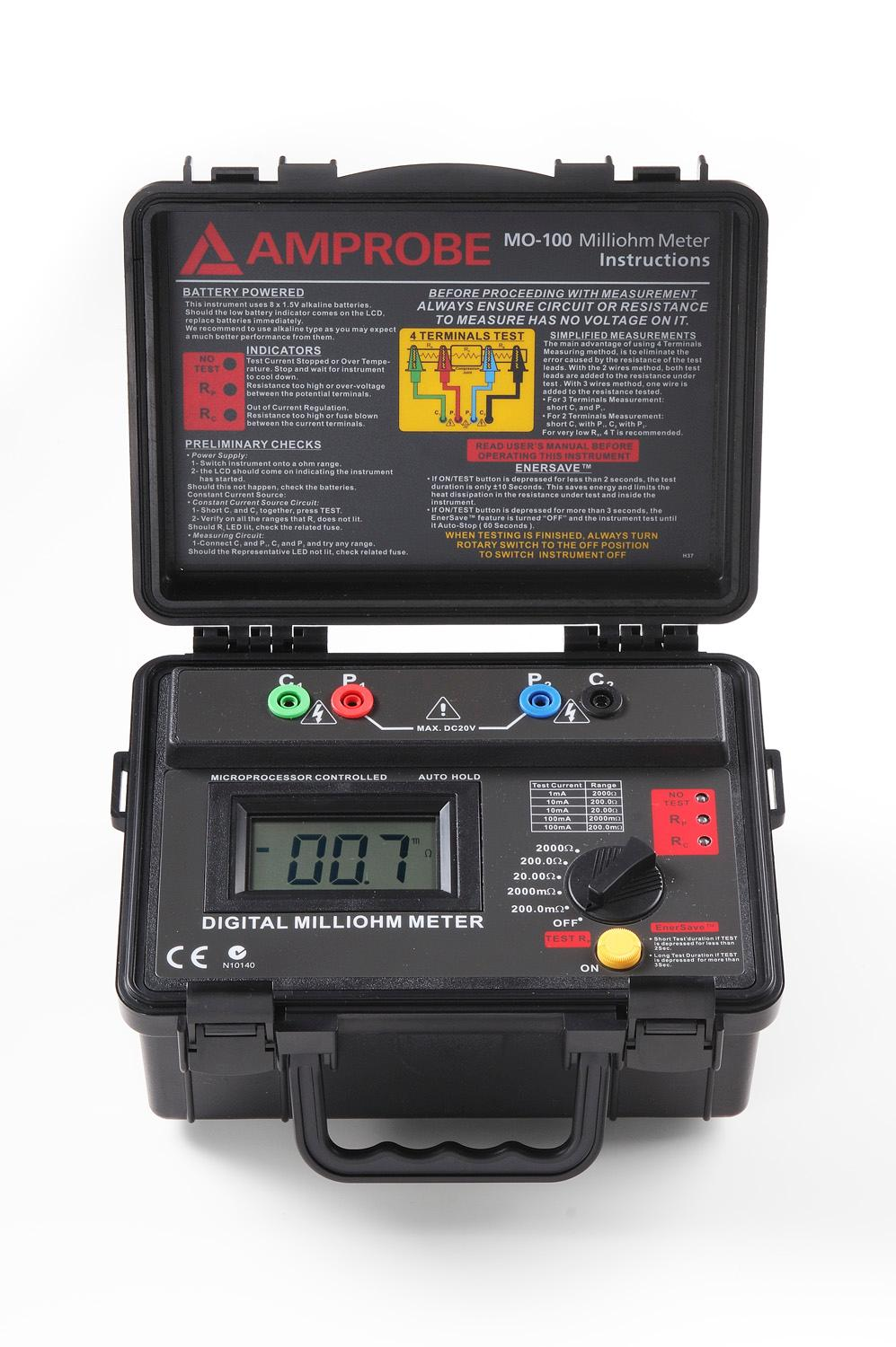 Amprobe Mo 100 Milliohm Meter Multi Testers Home Digital Multimeter From Reliable Circuit Suppliers On The Manufacturer