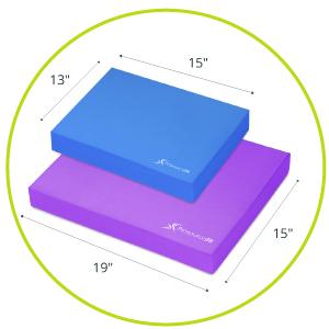 wobble cushion, foam balance board, balance board, balance trainer, foam rocker board, balance