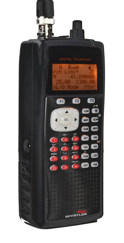 Amazon.com: Whistler WS1010 Analog Handheld Scanner (Black ...