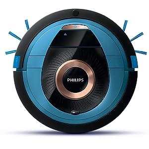 Philips Smart Pro Compact FC8778/01 - Robot Aspirador con Control desde APP, 4 Modos de Limpieza, Alto Rendimiento en Suelos Duros, Sensores ...