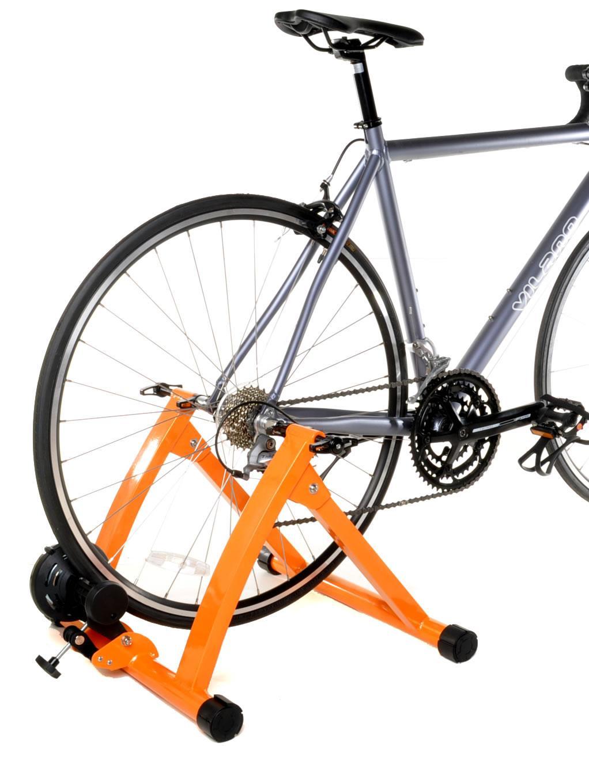 Conquer Indoor Bike Trainer Exercise Stand Orange