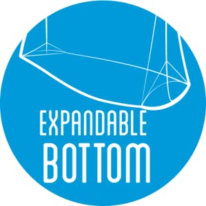Ziploc-EXPANDABLE BOTTOM