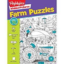 Farm Puzzles - Jumbo Book Of Hidden Pictures® (Highlights Jumbo Books & Pads)