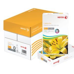 Universalpapier DIN A3 80 gr.//m/² 2.500 Blatt Karton mit 5 Pack 500 Blatt wei/ß Druckerpapier Xerox 003R91721 Premier Kopierpapier