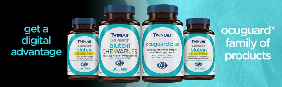 Amazon.com: Twinlab ocuguard blutein Rendimiento Cápsulas ...
