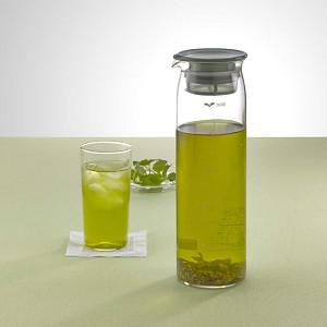 HARIO ハリオ はりお 耐熱ガラス たいねつ がらす TEE ティー お茶 おちゃ シンプル 簡単 カンタン 気軽 カワイイ 可愛い キレイ 綺麗 冷水筒 冷蔵庫ポット 大容量