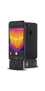 FLIR+ FLIR ONE + iOS+ thermal camera + silver