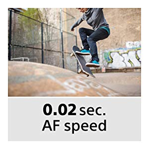 Fast Auto Focus Speed