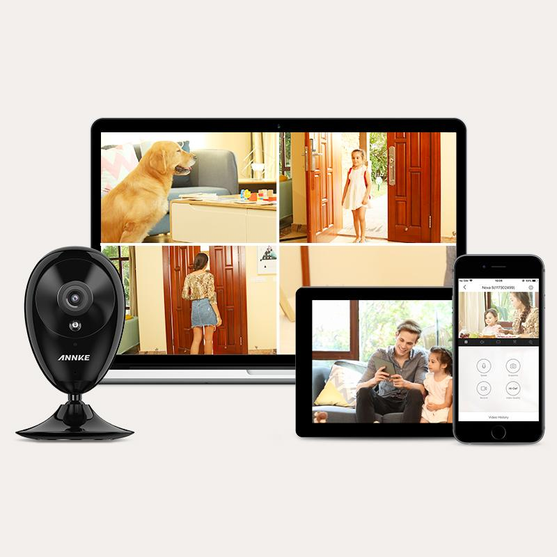 IP Camera, ANNKE Nova S 1080P HD WiFi Wireless Security Camera, Work