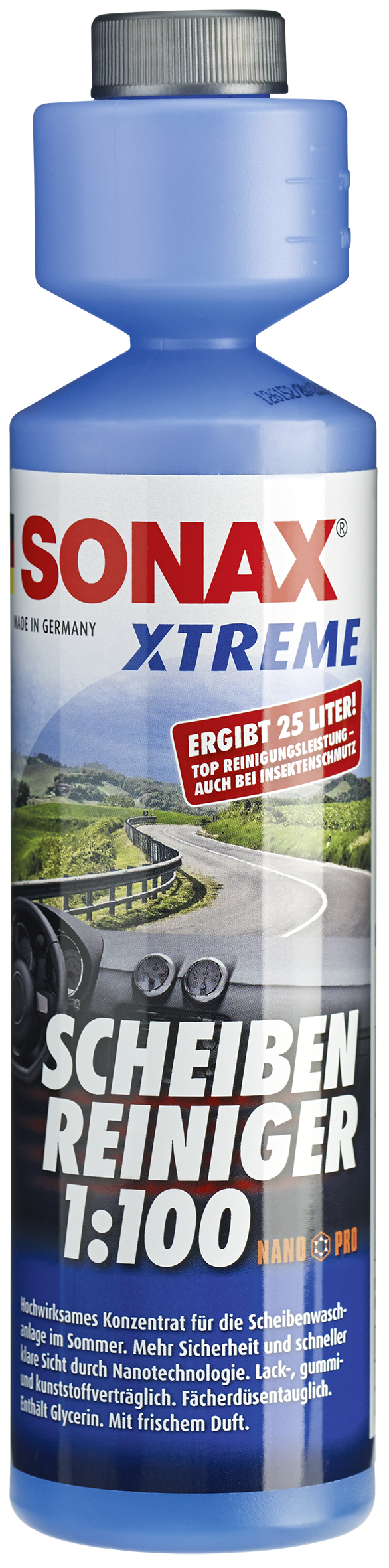 sonax 271141 xtreme scheiben reiniger 1 100 nanopro 250ml. Black Bedroom Furniture Sets. Home Design Ideas
