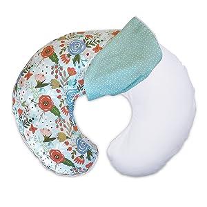 Boppy Slipcover, Nursing Pillow cover, Breastfeeding Pillow Cover, Boppy cover, two-sided slipcover