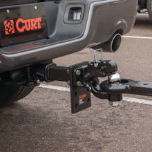 CURT Pintle Hitch Mount Lunette Ring