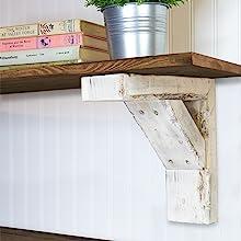 bracket and shelf
