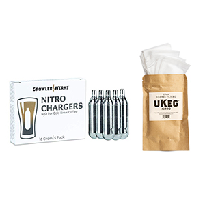 GrowlerWerks Nitro Gas Charger and Filter Bags