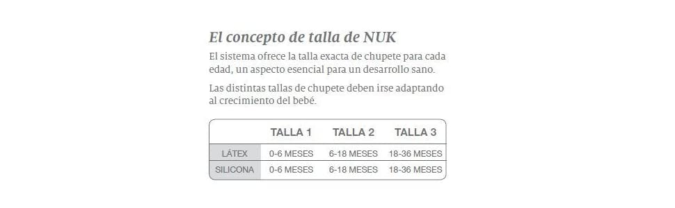 Nuk Classic Happy Days - Set de 2 chupetes fisiológicos de látex T2