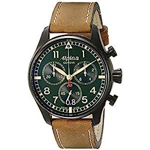 Alpina Startimer Pilot Chronograph Big Date Swiss Quartz Men's Watch