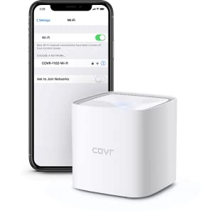 COVR-1102 network shown available to connect to on an iphone