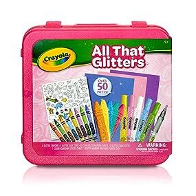 Crayola All That Glitters Art Case