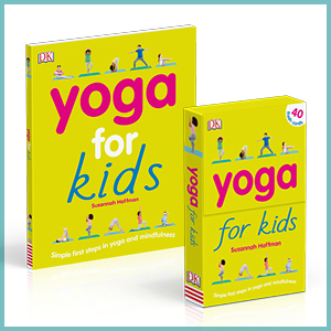 Cover images for Yoga for Kids and Yoga for Kids Flash Cards