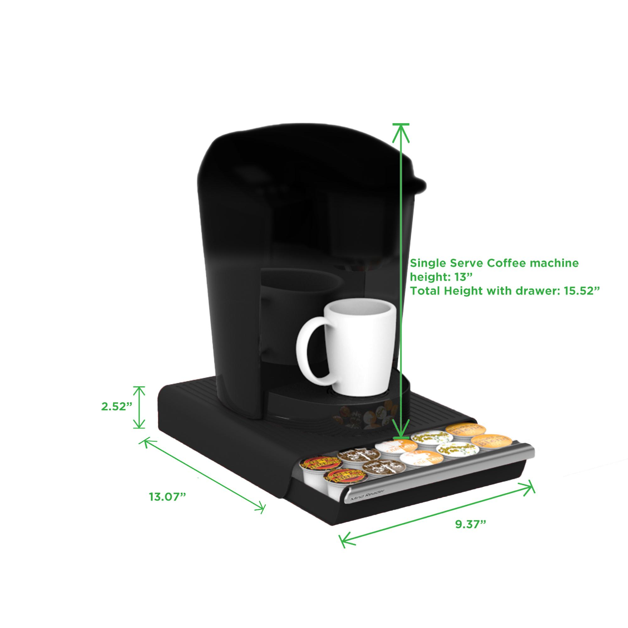 Amazon Com Mind Reader Coffee Pod Storage Drawer For K