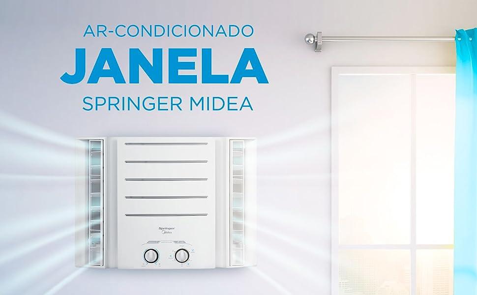 Ar-Condicionado de Janela Springer Midea Mecânico