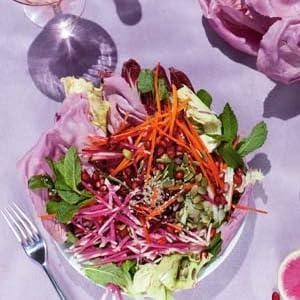 salad, plant based