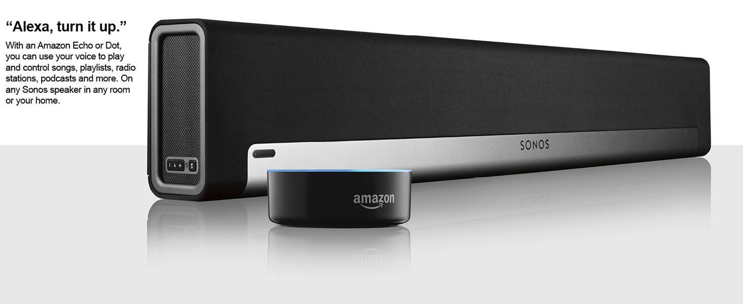 SONOS PLAYBAR Wireless Home Cinema Soundbar-Black : Amazon
