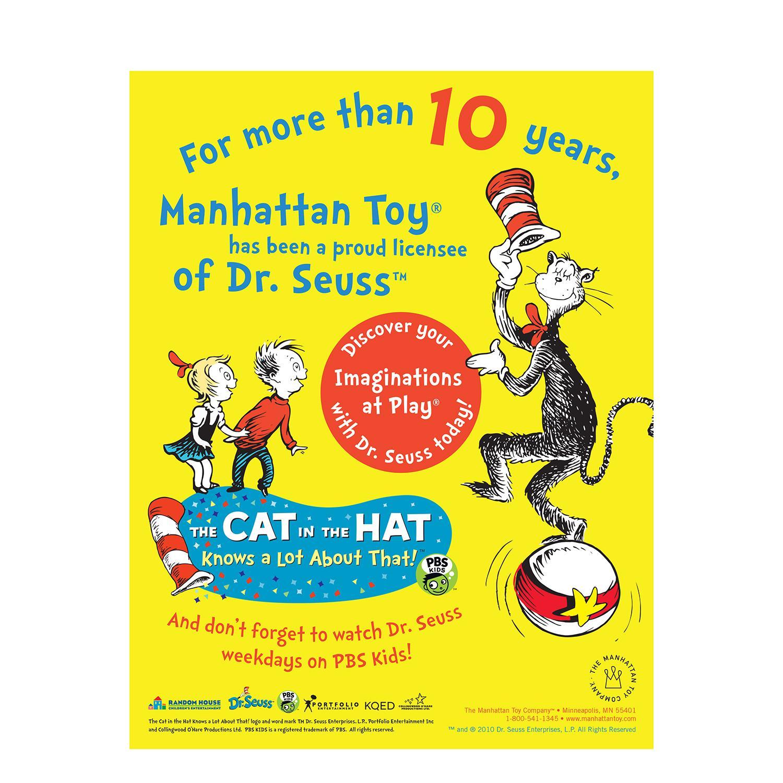 "Cat In The Hat Actors: Amazon.com: Manhattan Toy Dr. Seuss Cindy Lou Who 15"" Soft"