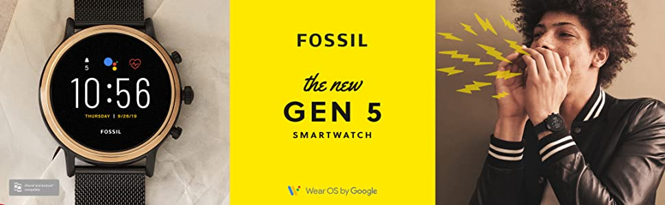 Amazon Com Fossil Touchscreen Model Ftw4024 Watches