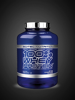 Scitec Nutrition 100% Whey Protein con aminoácidos adicionales, 2.35 kg, Chocolate