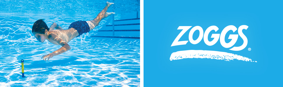 Zoggs pool toys;dive stick;pool toys;swimming pool toys;paddling pool toys;pool toy for children