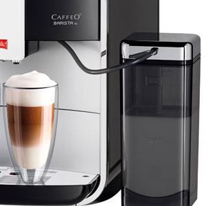 Melitta Caffeo Barista TS Smart F850-102 F850-102-Cafetera Automática, Super Silenciosa, Control con App Connect, Función One Touch, Negro, 1450 W, ...