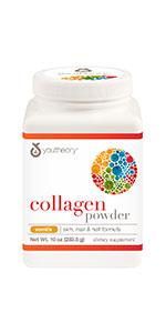 Collagen Powder Powder, Vanilla Flavor,10 ounces