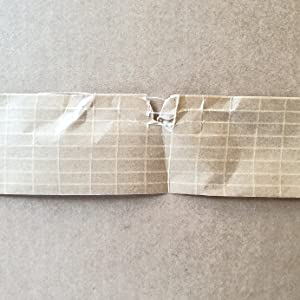 Versterkte papierband, scheurvast.