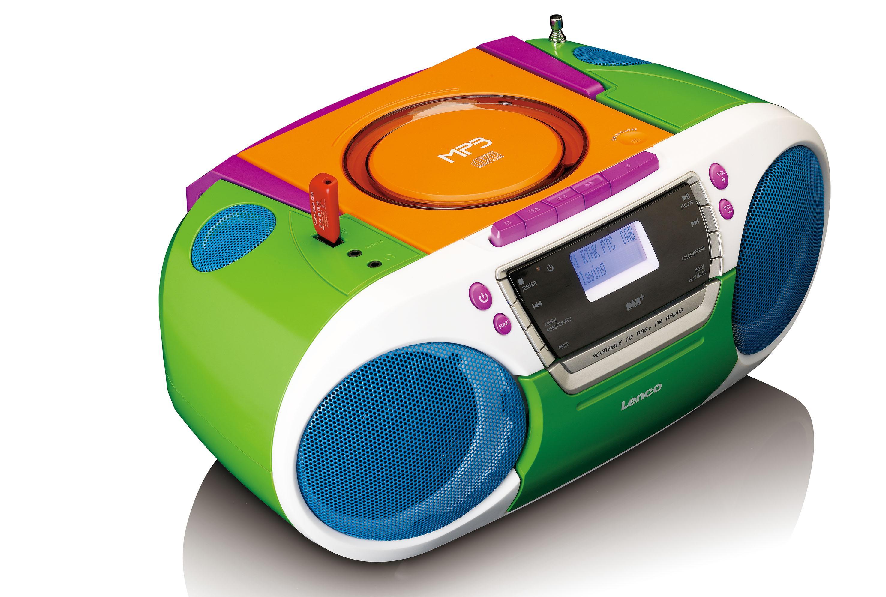 lenco digitalradio scd 681 dab mit cd player kassette und usb batteriebetrieb m glich dab. Black Bedroom Furniture Sets. Home Design Ideas
