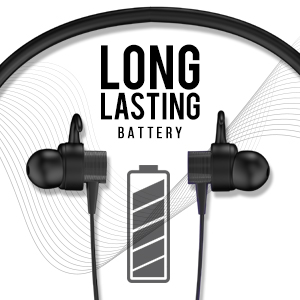 Rhythm&Blues A200NBT in Ear Wireless Neckband Earphones (Black)