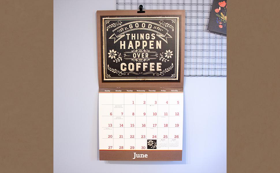 Coffee Calendar 2021 Images