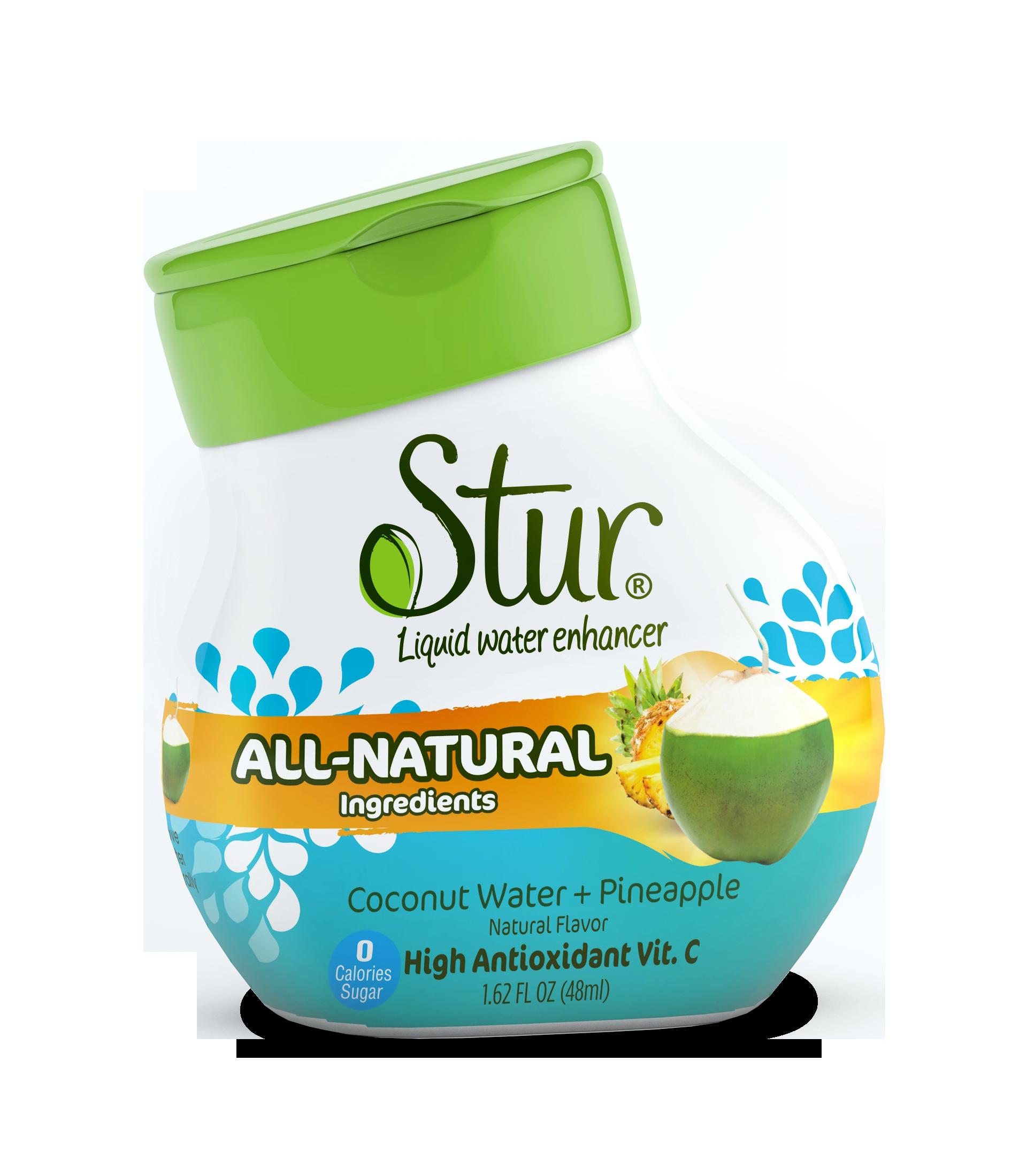 Stur All Natural Stevia Water Enhancer Variety Pack