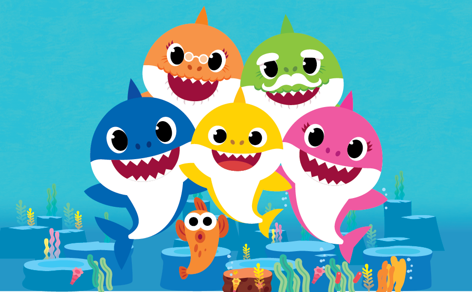 Baby Shark, Baby Shark Characters, Baby Shark Song, Pinkfong, Baby Shark Video, Crayola Coloring