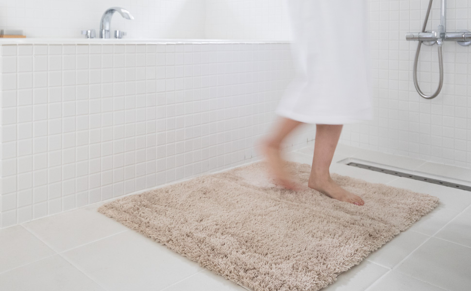 乾度良好 かんどーくん Dナチュレ 吸水 速乾 バスマット 浴室 バスルーム お風呂場 マット