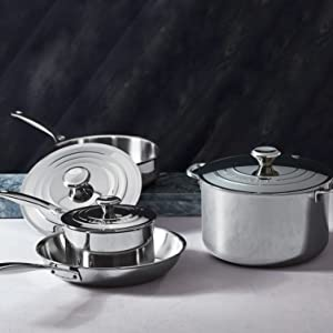Le Creuset Stainless Steel Cookware
