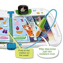 One Size LeapFrog 461803/Wortschatz 3D Activity Buch Disney Prinzessin Learning Spielzeug Multi