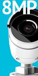 8mp,4K,IP,Bullet camera,security,surveillance,NVR, home, business,smart, smart home,