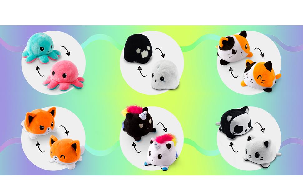 fox ghost cat halloween cute christmas gift children stuffed animal adorable
