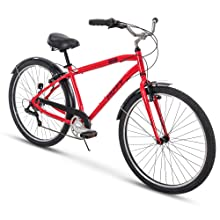 Amazon com : Huffy Mens Commuter Bike, Hyde Park 27 5 inch 3