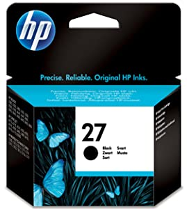 HP ,27 ,Black ,Original ,Ink ,Cartridge, C8727AE