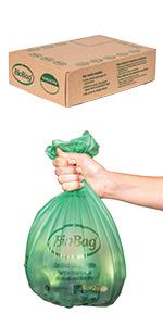 Small 3 Gallon Food Scrap Bags