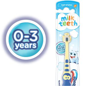 Macleans 0-3 toothbrush
