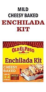 Mild Cheesey Baked Enchilada Kit