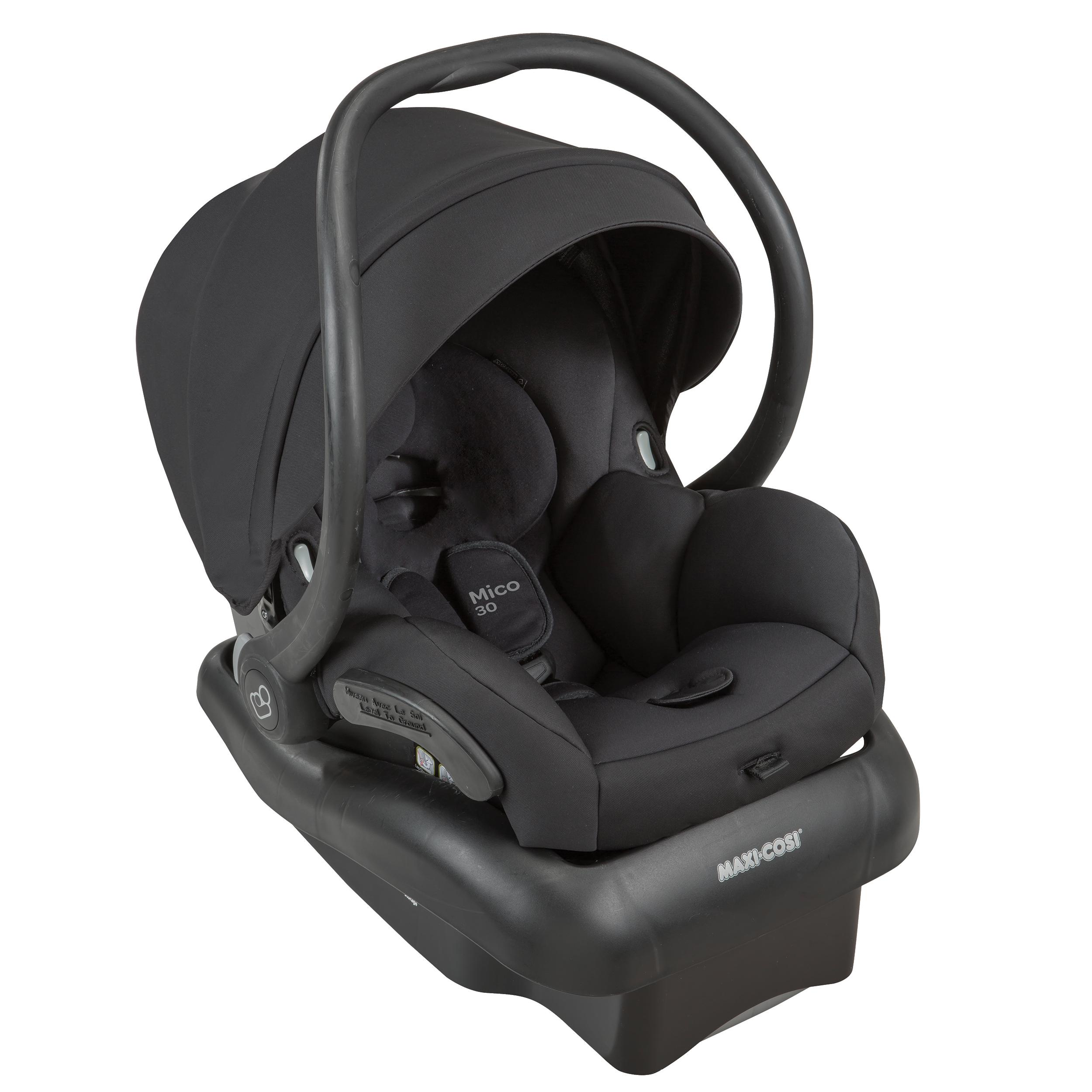 maxi cosi mico 30 infant car seat devoted black amazon. Black Bedroom Furniture Sets. Home Design Ideas